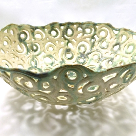 Circles Bowl- Contemporary Hand Made Ceramics