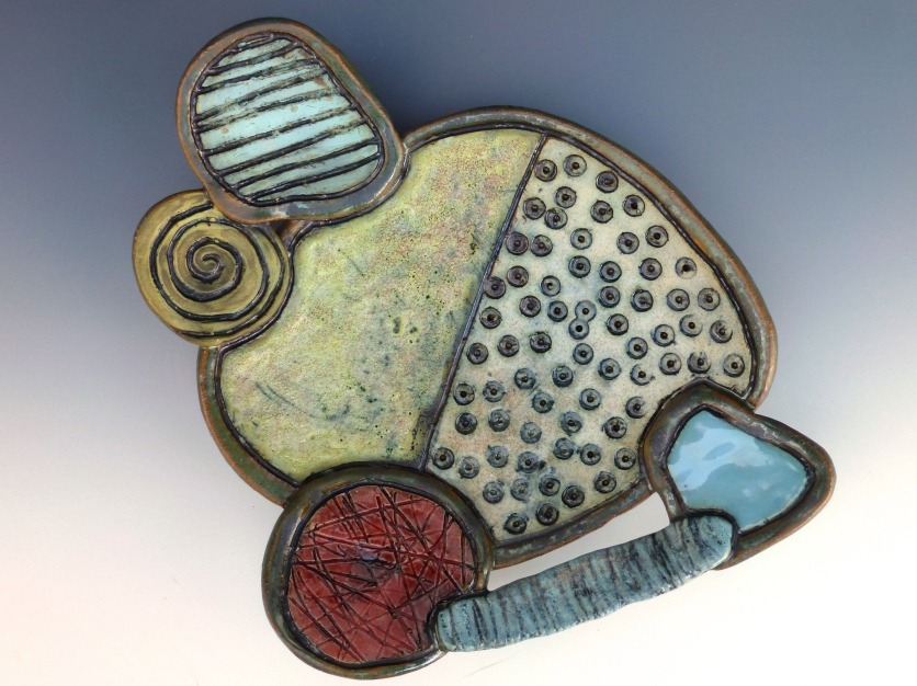 My Favorite Animal-Abstract Ceramic Dish
