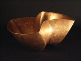 Siamese Copper Bowl Detail