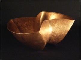 Siamese Copper Bowl Detail