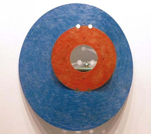 """Round Blue Bookshelf- 4' x 4' x 7"""""""