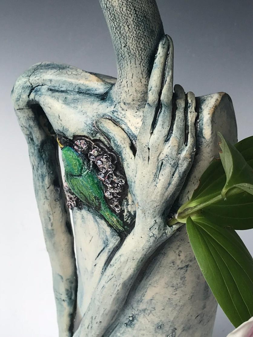 """Nurturing The Song In My Heart"" detail hand"