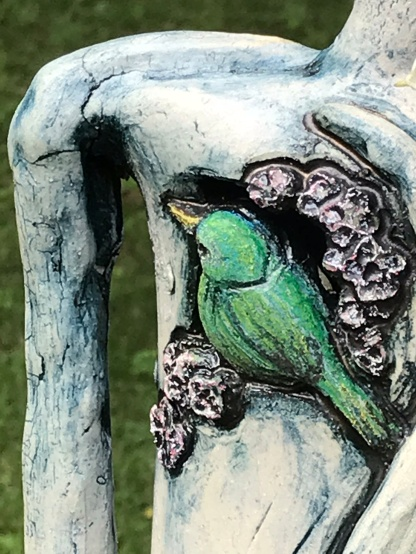 """Nurturing The Song In My Heart"" detail bird"