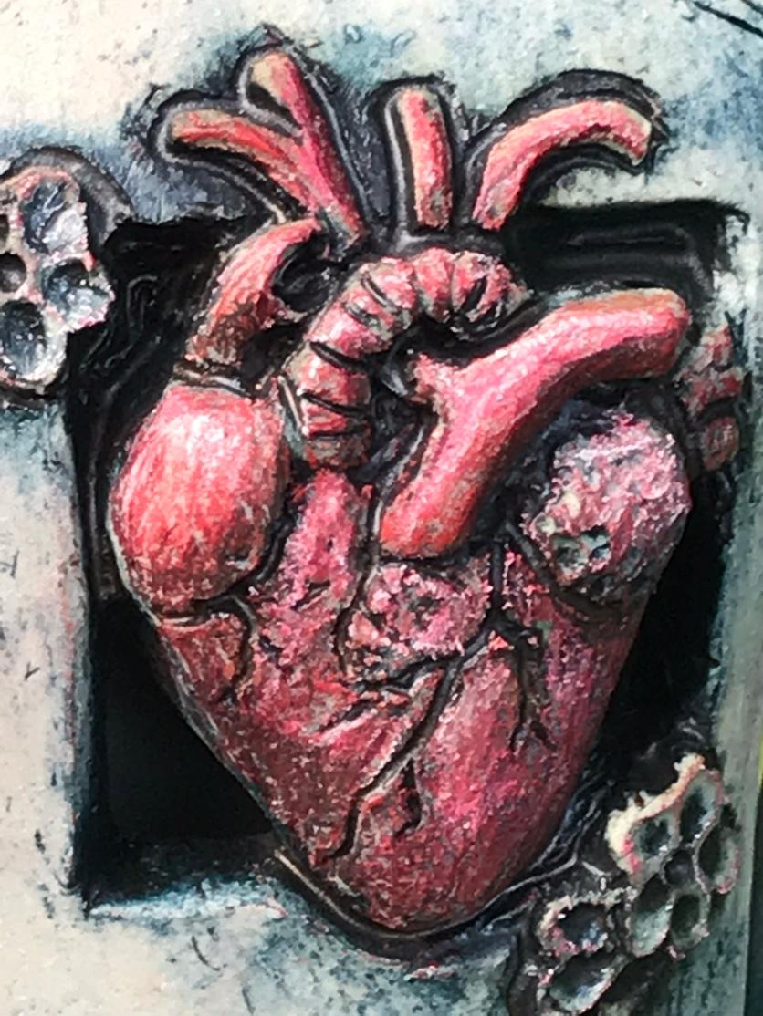 "Nurturing The Song In My Heart"" detail heart"