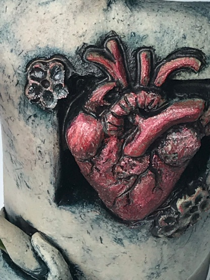 """Nurturing The Song In My Heart"" detail heart"